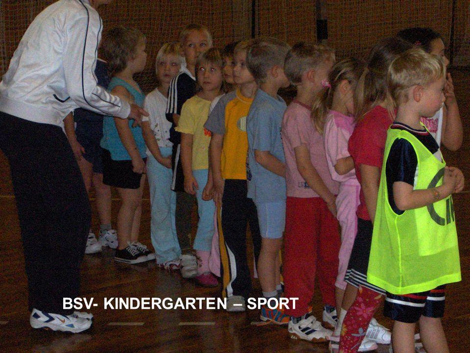 BSV- KINDERGARTEN – SPORT