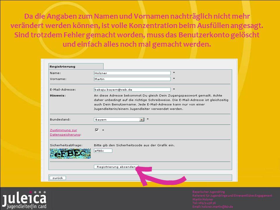 Bayerischer Jugendring Referent für Jugendringe und Ehrenamtliches Engagement Martin Holzner Tel: 089/51458-36 Email: holzner.martin@bjr.de Da die Ang