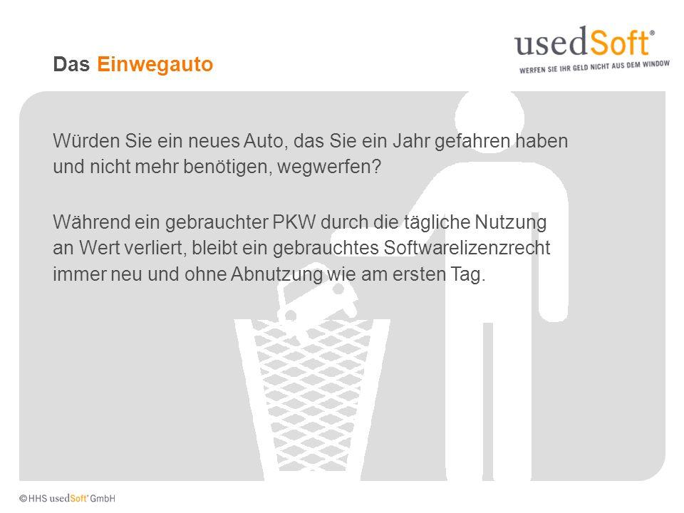2003: Gründung der HHS usedSoft GmbH durch Peter Schneider, Dr.