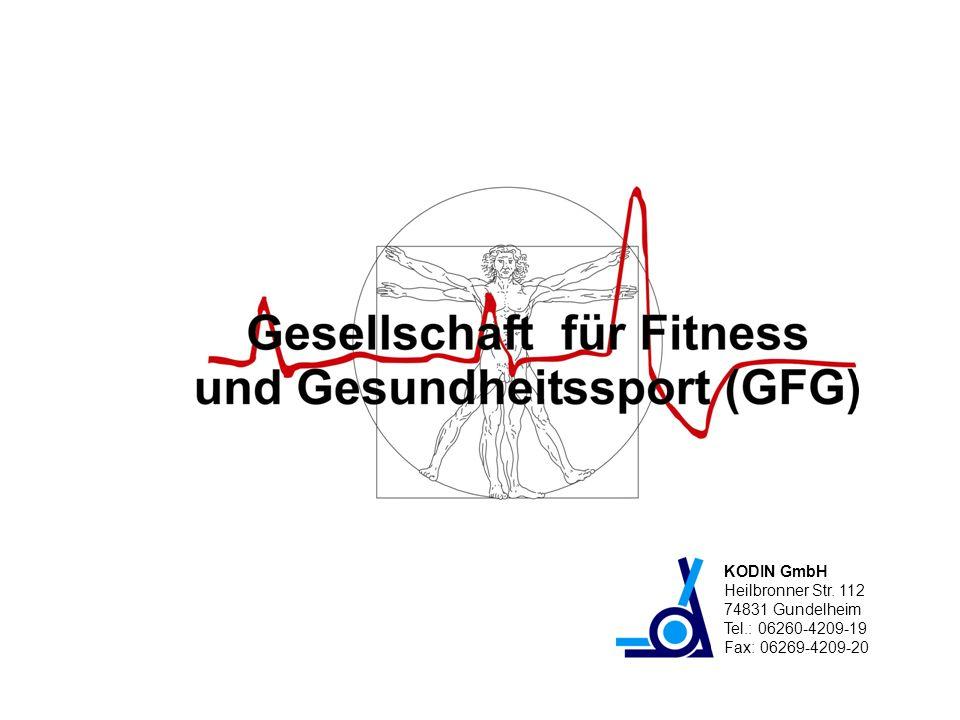 KODIN GmbH Heilbronner Str. 112 74831 Gundelheim Tel.: 06260-4209-19 Fax: 06269-4209-20
