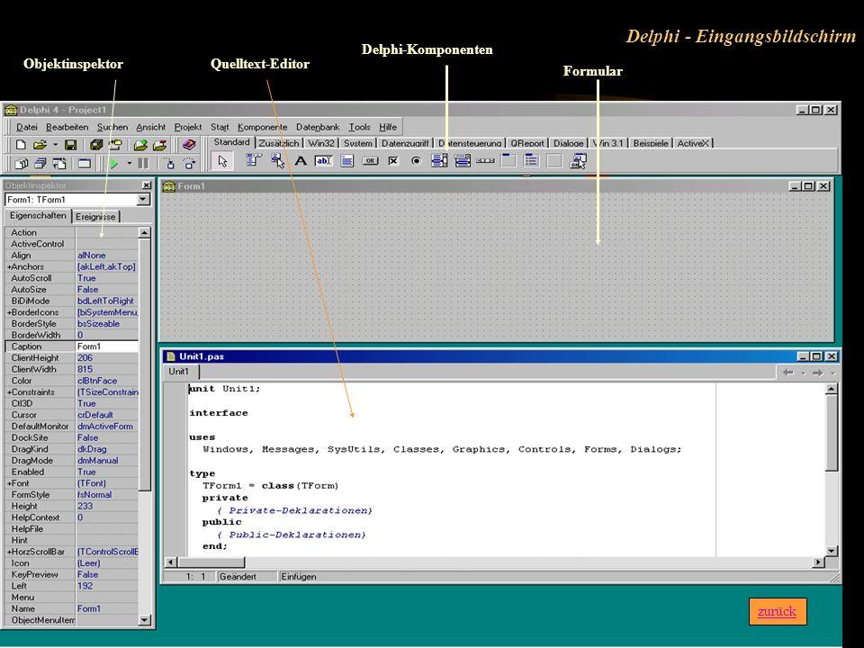 Speedbars zurück Möglichkeiten der Steuerung oder Ausführung des aktivierten Fensters durch Drücken der rechten Maustaste Hier rechte Maustaste klicke