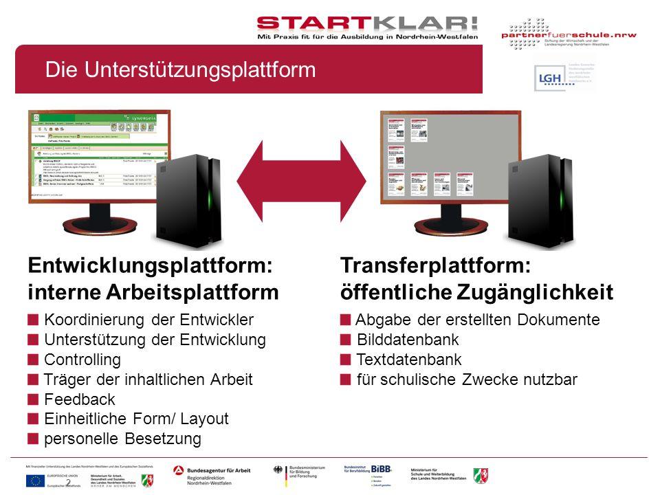 2 Die Unterstützungsplattform Entwicklungsplattform: interne Arbeitsplattform Koordinierung der Entwickler Unterstützung der Entwicklung Controlling T