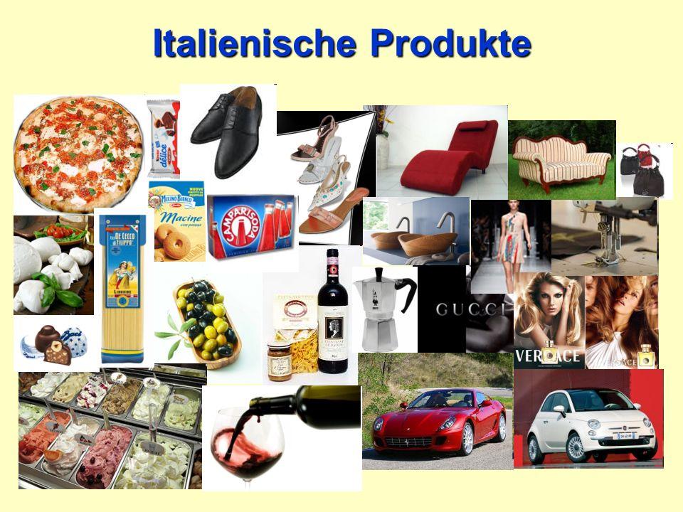 Italien als Handelspartner Italien steht an 5. Stelle der größten Handelspartner Deutschlands!