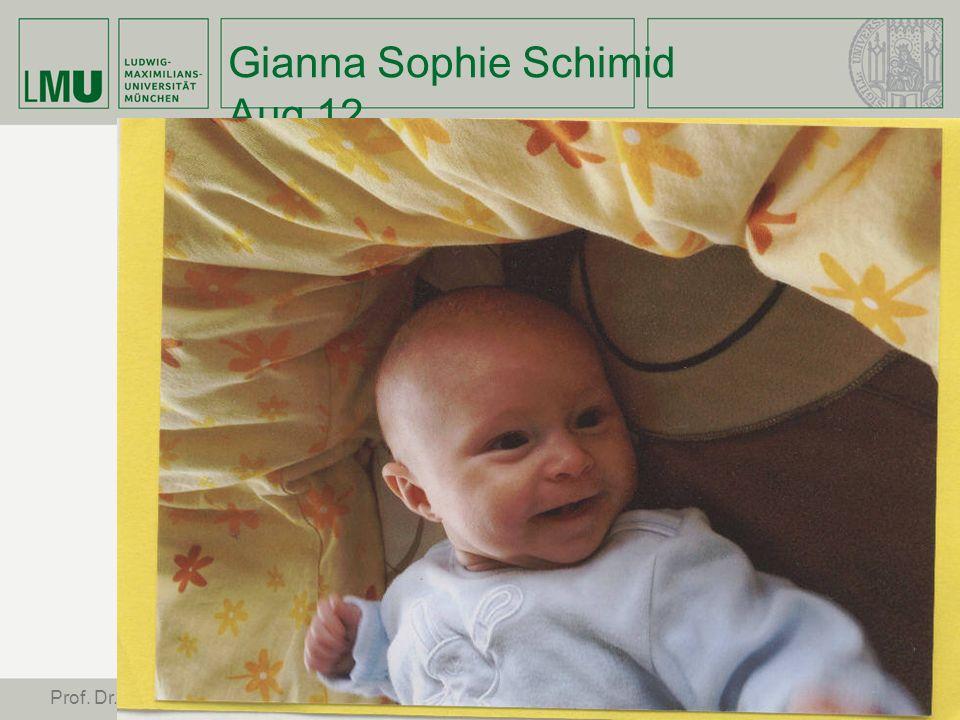 Gianna Sophie Schimid Aug 12 45 Prof. Dr. Stephan Leimgruber