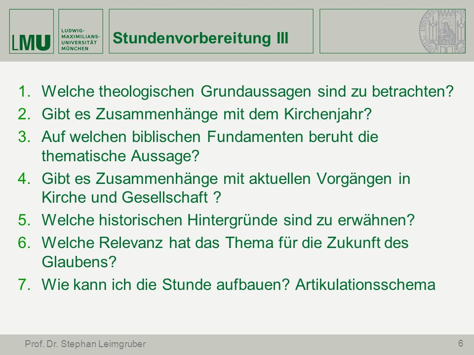37 Prof.Dr. Stephan Leimgruber 13.7.1.