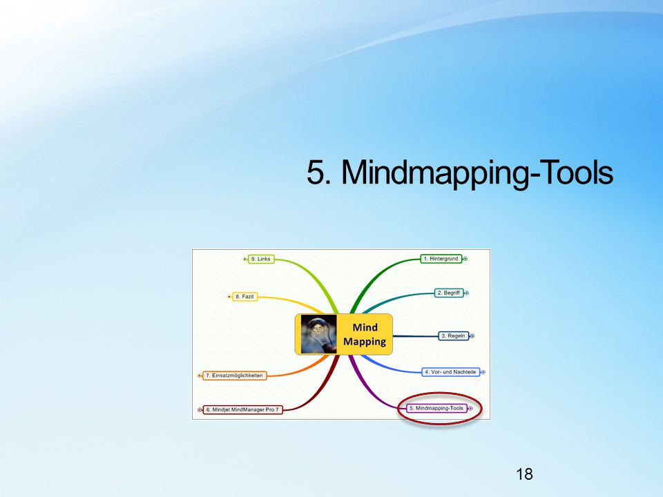 5. Mindmapping-Tools 18