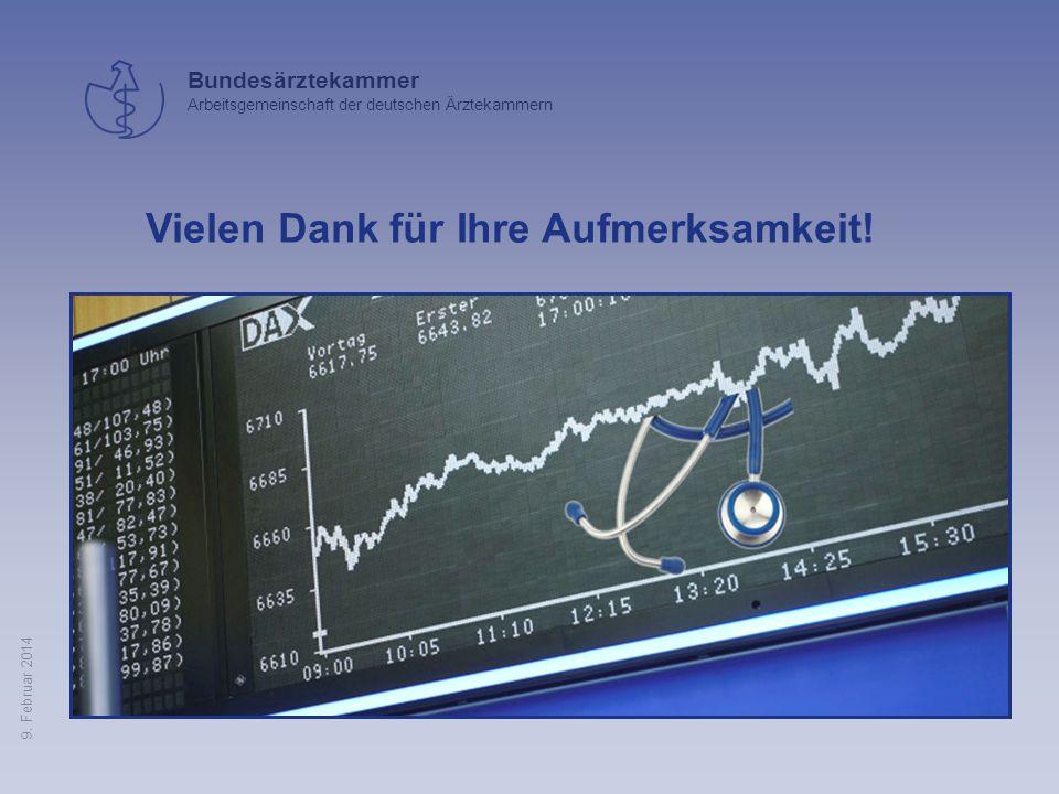 Bundesärztekammer Arbeitsgemeinschaft der deutschen Ärztekammern 9. Februar 2014 Nicht alles, was ökonomisch sinnvoll ist, ist medizinisch sinnvoll Ni