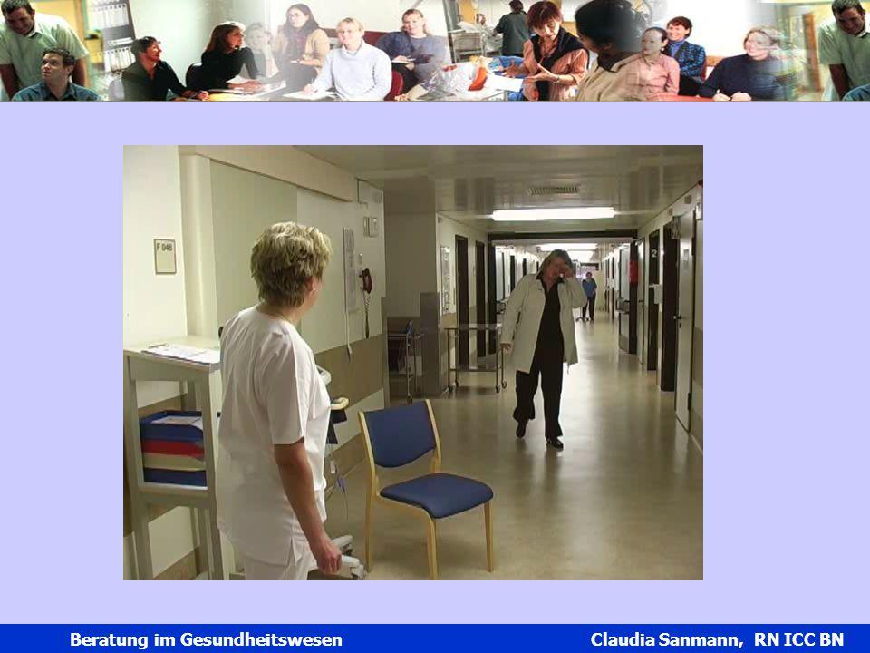 Claudia Sanmann Beratung im Gesundheitswesen Claudia Sanmann, RN ICC BN