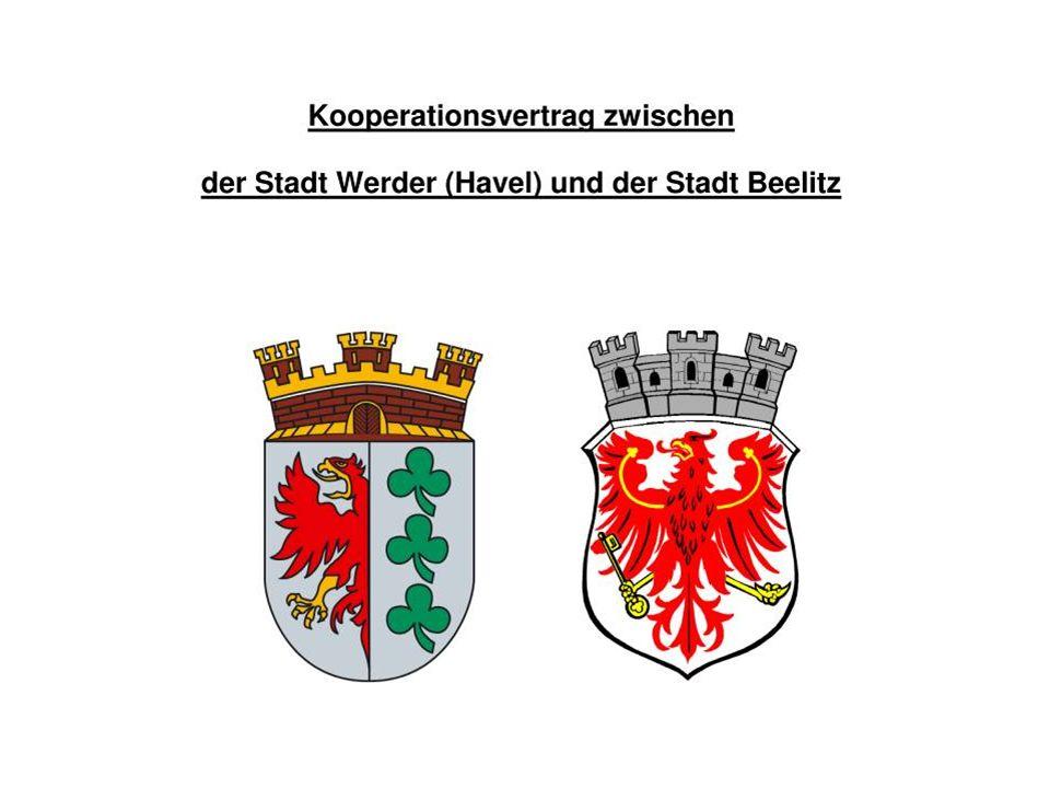 Mittelbereich Werder (Havel) – Beelitz Einwohner Fläche (2008) (qkm) Werder (Havel)23.130116 Groß Kreutz (Havel) 8.435 99 Schwielowsee 9.840 58 Seddiner See 4.275 24 Beelitz12.048180 57.728477 Demografischer Wandel im Mittelbereich Entwicklung der Bevölkerung Abnahme: - 2 % (2010 – 2020) und - 8 % (2010 – 2030) Anteil der Bevölkerung 65 Jahre und älter Zunahme: von 20 % (2010) auf 25 % (2020) auf 35 % (2030) (LBV 2008)