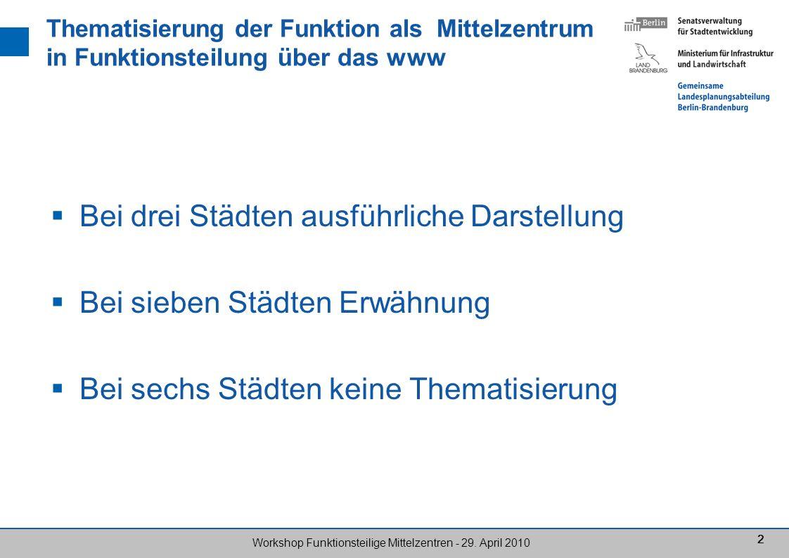 33 Workshop Funktionsteilige Mittelzentren - 29.