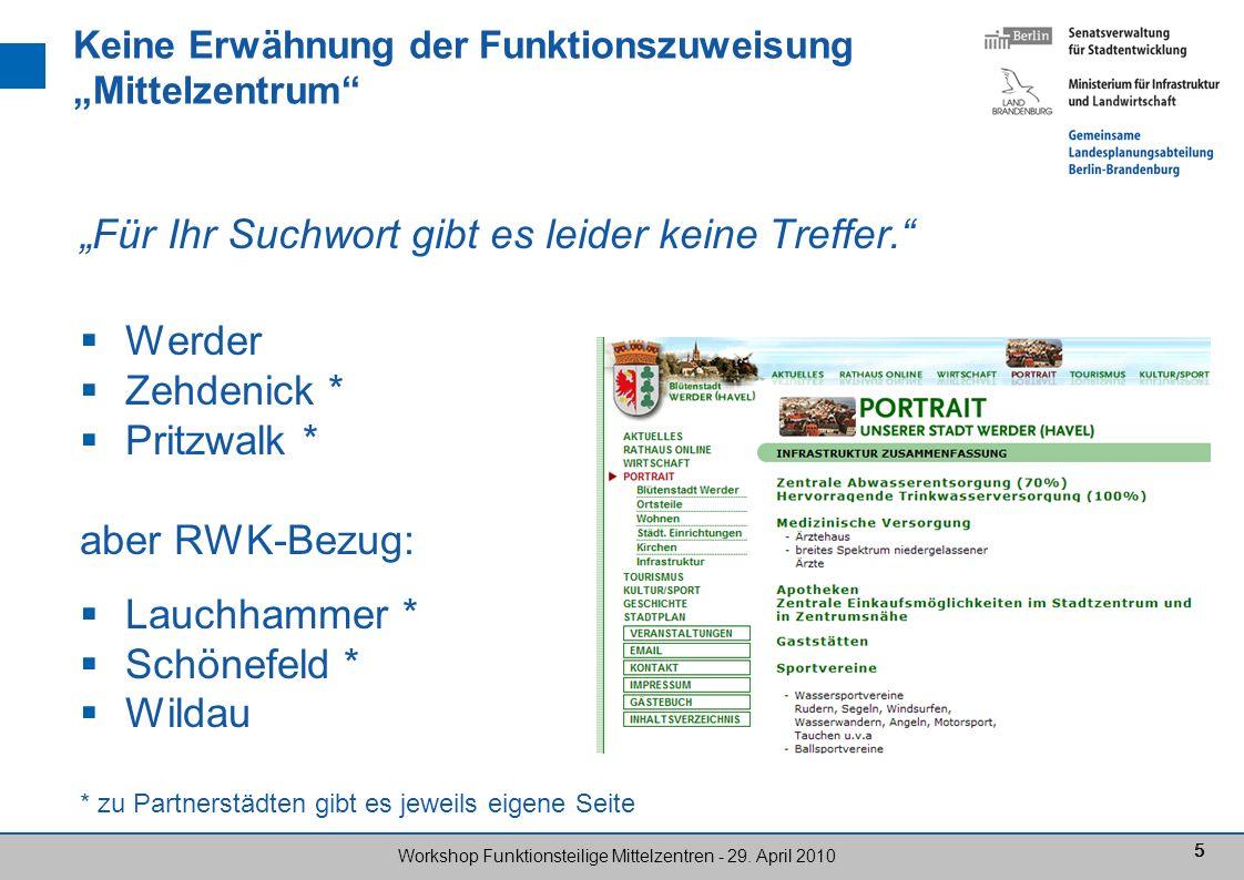 66 Workshop Funktionsteilige Mittelzentren - 29.