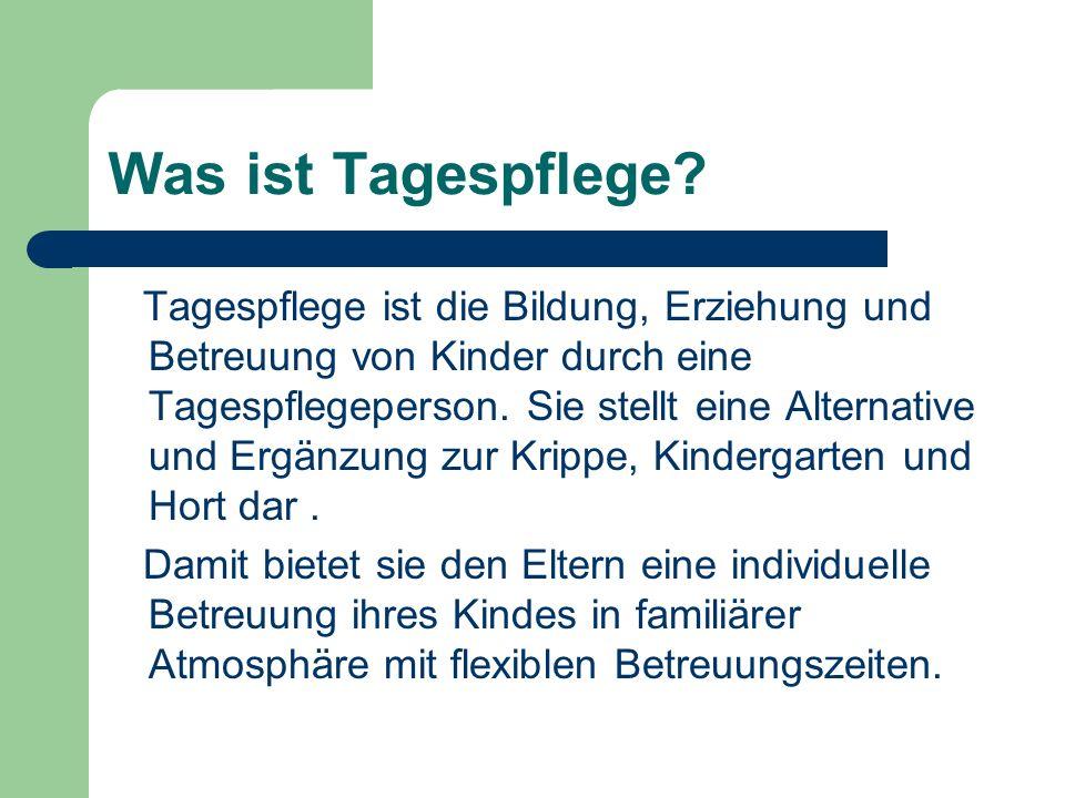 Rolle der Gemeinden … Der Freistaat Bayern fördert seit Inkrafttreten des BayKiBig die Tagespflege von Kindern erstmals auf gesetzlicher Grundlage unter folgenden Bedingungen: – Die Aufenthaltsgemeinden der Kinder fördern Angebote der Tagespflege entsprechend nach Art 21 Abs.