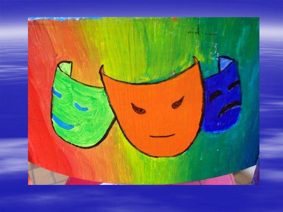 Kerstin Lindenau – 10b Miteinander statt Gegeneinander Ich habe helle und leuchtende Farben genommen, damit der Text besonders hervorgehoben wird.