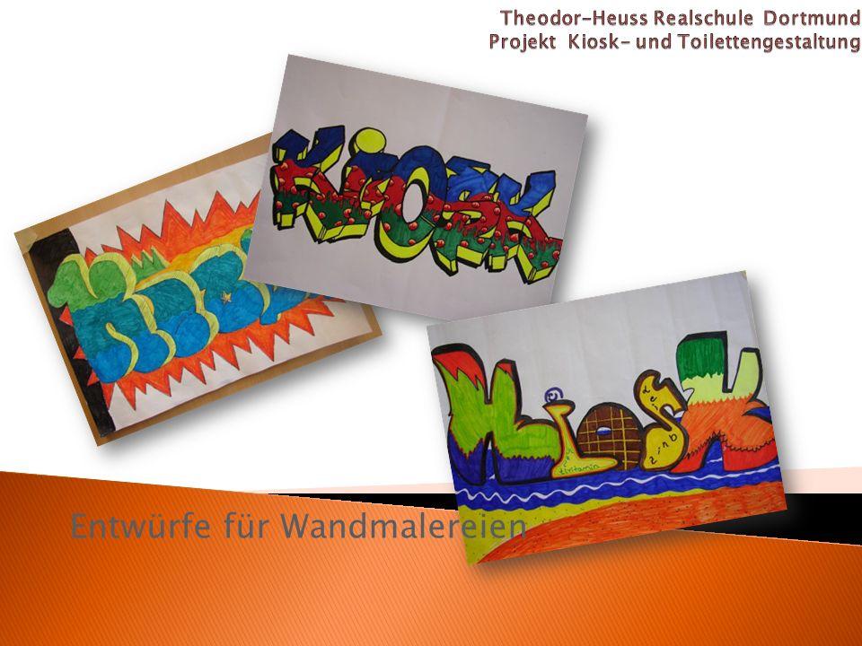 Entwürfe für Wandmalereien