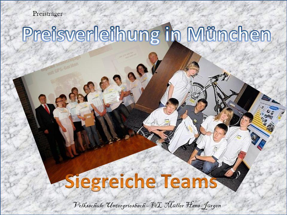 Preisträger Volksschule Untergriesbach – FöL Müller Hans-Jürgen