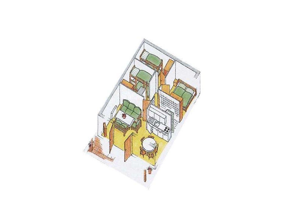 Ausstattung für 6 Personen Wohnfläche ca.63 m² inkl.