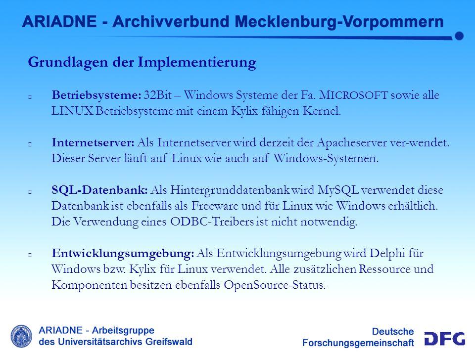 * Ausblick NAT Ausblick Die steigende Zahl regionaler Archivportale in Deutschland, deutet auf eine Entwicklung der Archive hin zum Informationsdienstleister an.
