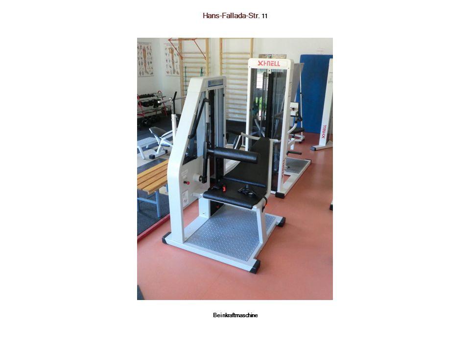 Hans-Fallada-Str. 11 Beinkraftmaschine