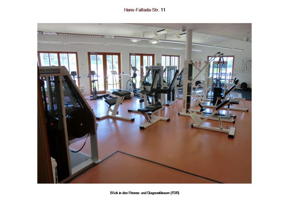 Hans-Fallada-Str. 11 Blick in den Fitness- und Diagnostikraum (FDR)