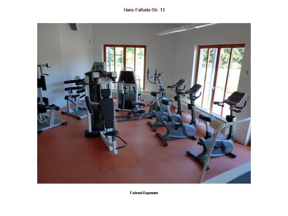 Hans-Fallada-Str. 11 Fahrrad-Ergometer
