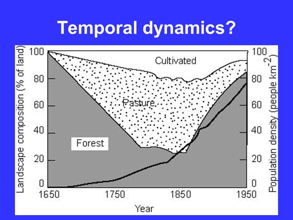 Temporal dynamics?