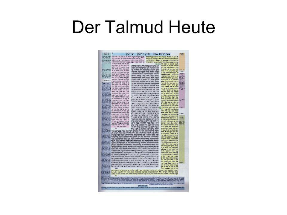 Der Talmud Heute