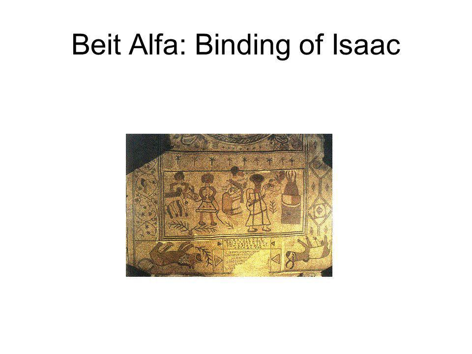 Beit Alfa: Binding of Isaac