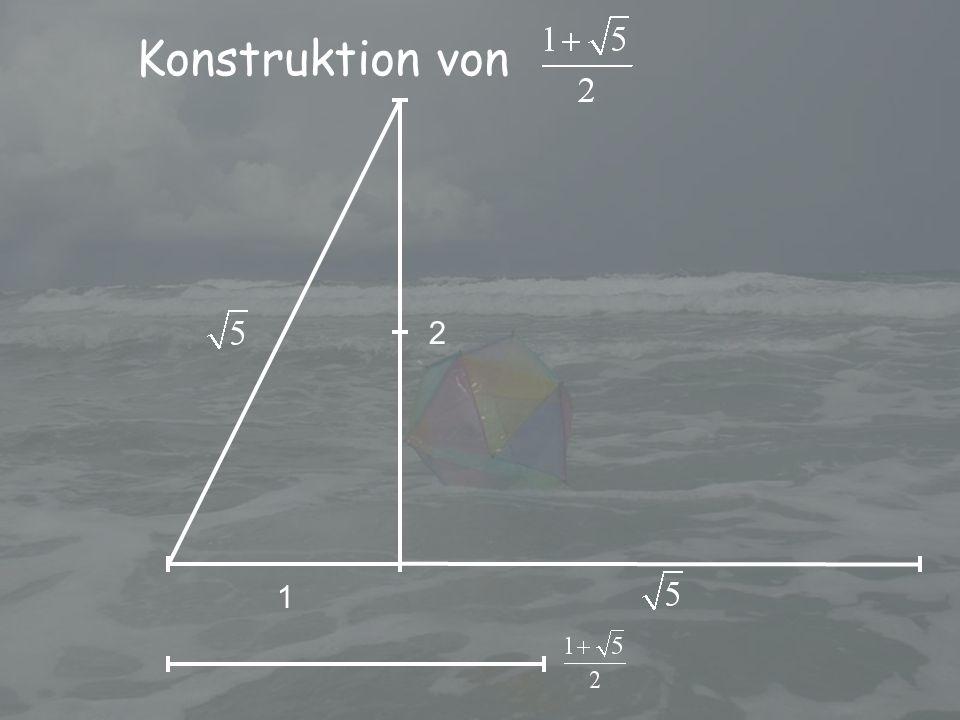 Konstruktion von 1 2