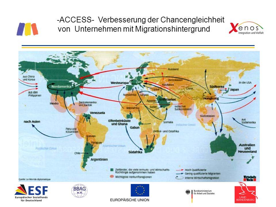 -ACCESS- Verbesserung der Chancengleichheit von Unternehmen mit Migrationshintergrund Demographische Entwicklung