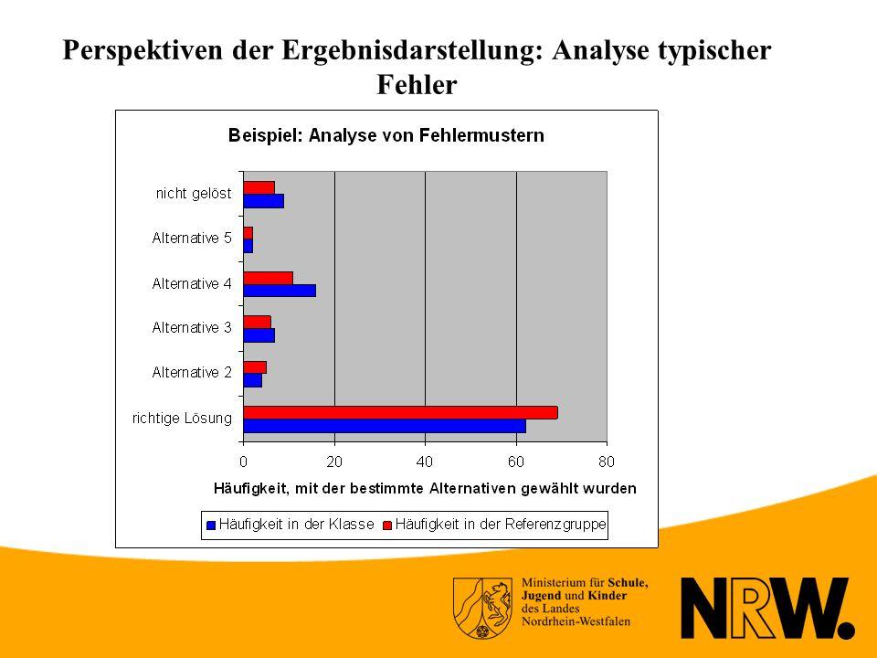 Perspektiven der Ergebnisdarstellung: Analyse typischer Fehler
