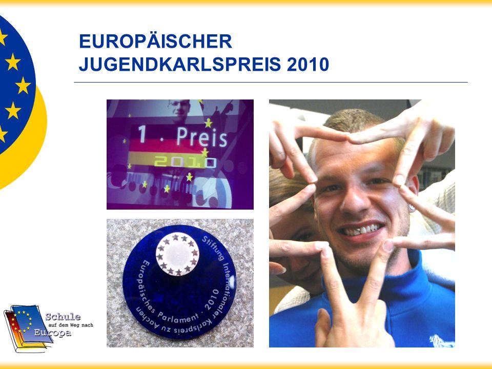 EUROPÄISCHER JUGENDKARLSPREIS 2010