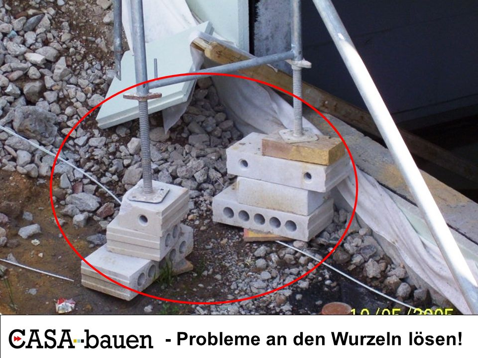 . - Probleme an den Wurzeln lösen!