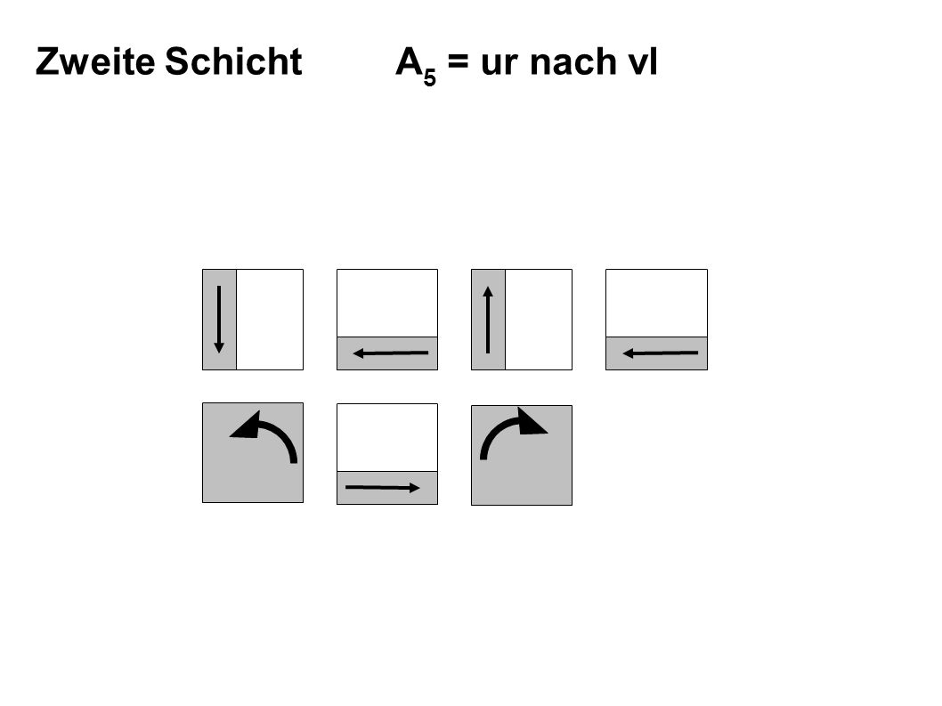 A 5 = ur nach vl Zweite Schicht