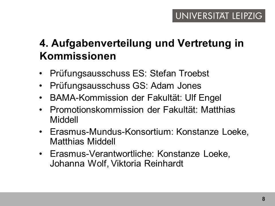 9 5.Akademischer Kalender 1.-11.10. Einführungswoche GS 13.10.