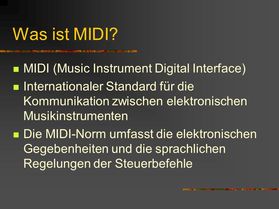 Was ist MIDI.