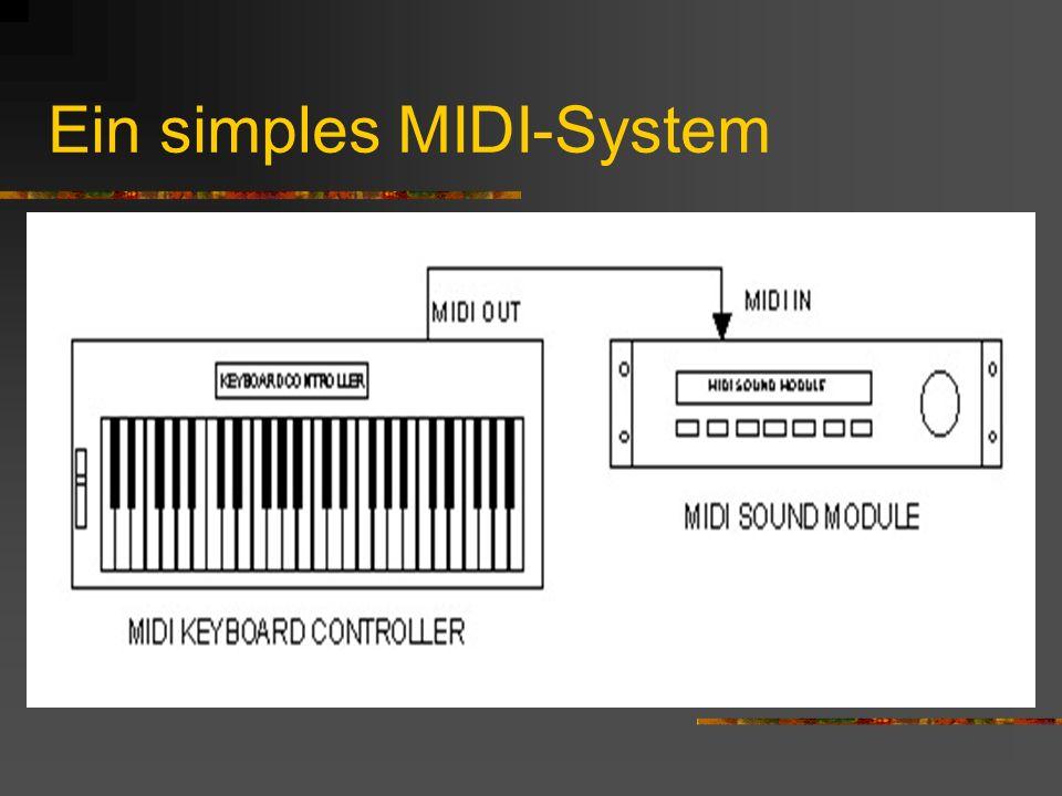 Ein simples MIDI-System