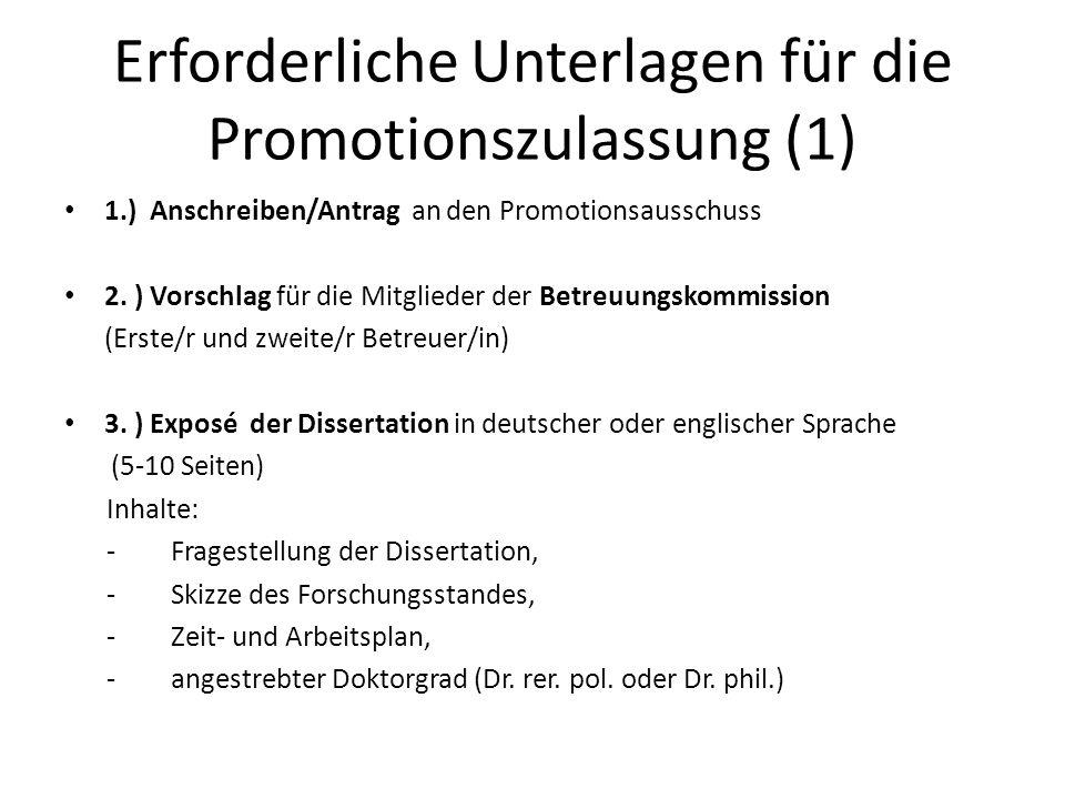 arbeitsplan dissertation