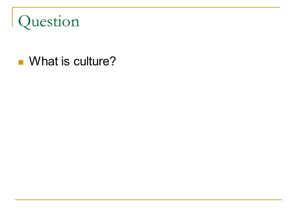Questions for the Global Manager Do all cultures have the same understanding of ethics.