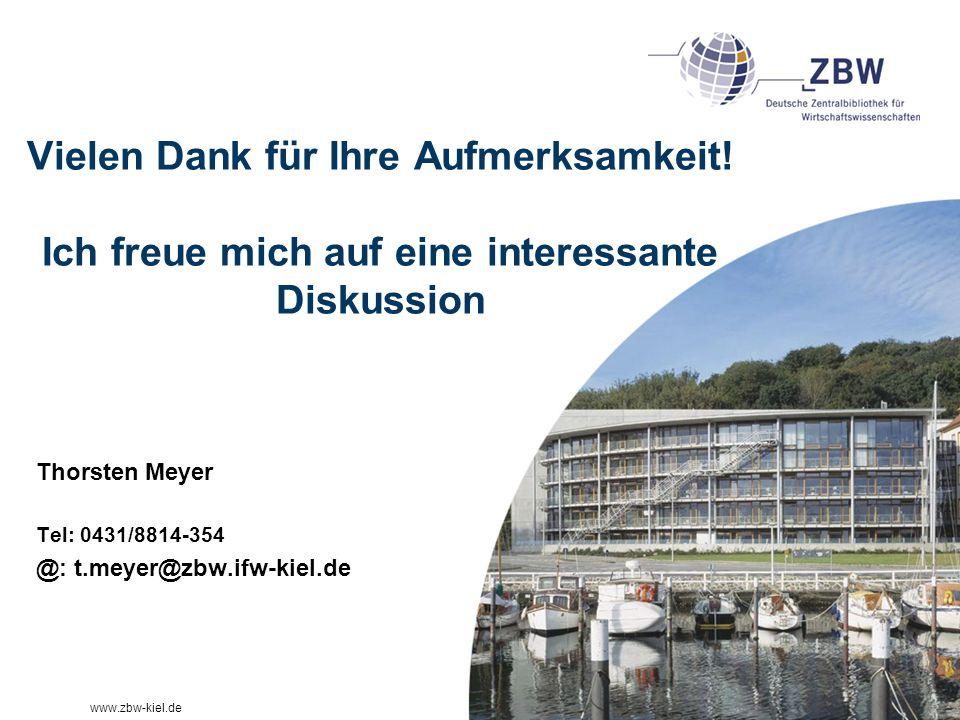 www.zbw-kiel.de Vielen Dank für Ihre Aufmerksamkeit.