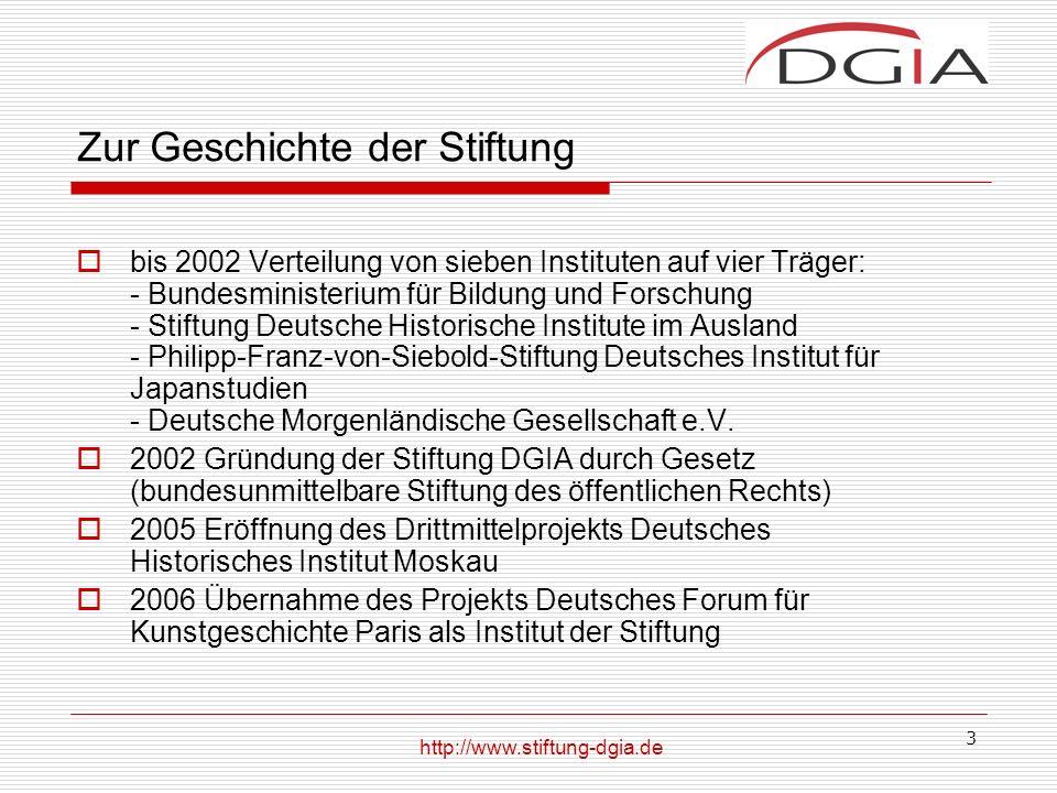 4 Stiftungszweck Zweck der Stiftung ist die Förderung der Forschung mit Schwerpunkten auf den Gebieten der Geschichts-, Kultur-, Wirtschafts- und Sozialwissenschaften in ausgewählten Ländern und die Förderung des gegenseitigen Verständnisses zwischen Deutschland und diesen Ländern.