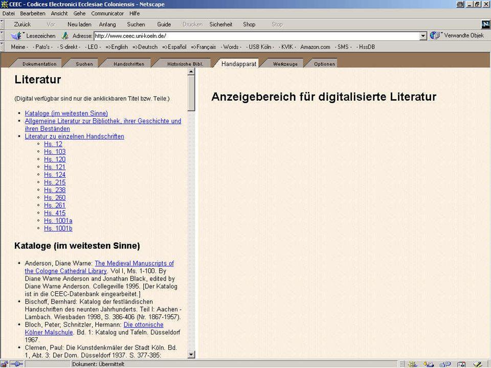 Digitale Bibliothek 1: Handapparat 1