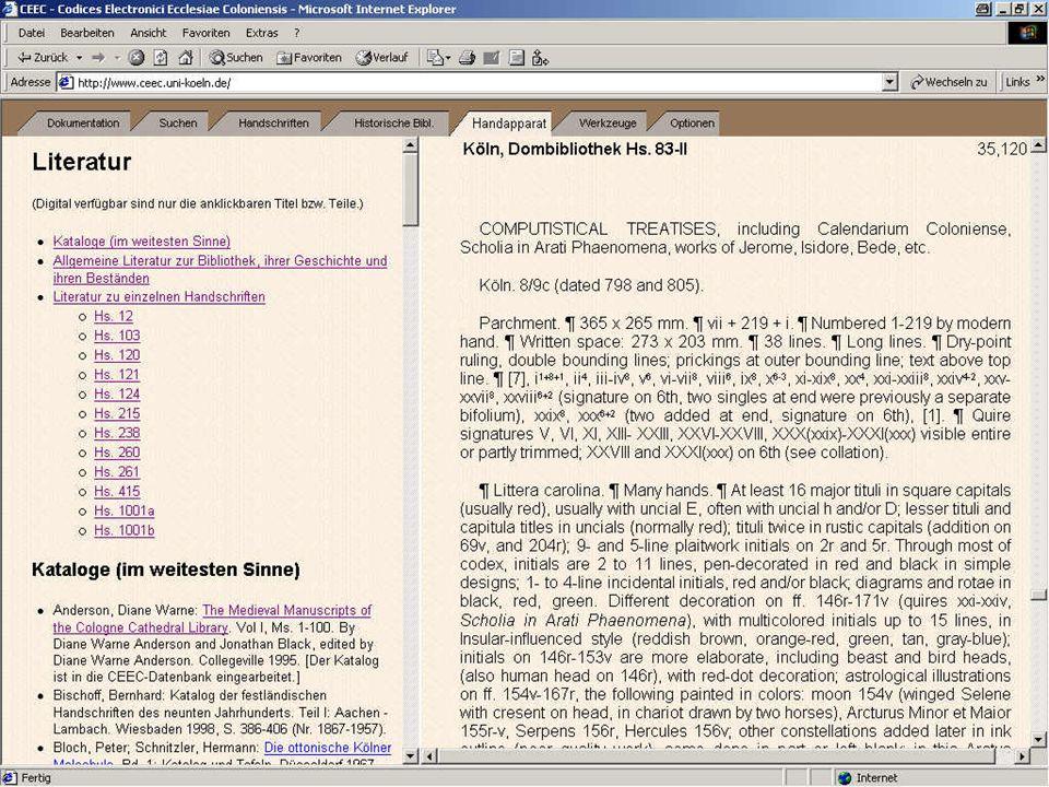 Digitale Bibliothek 2: Anderson