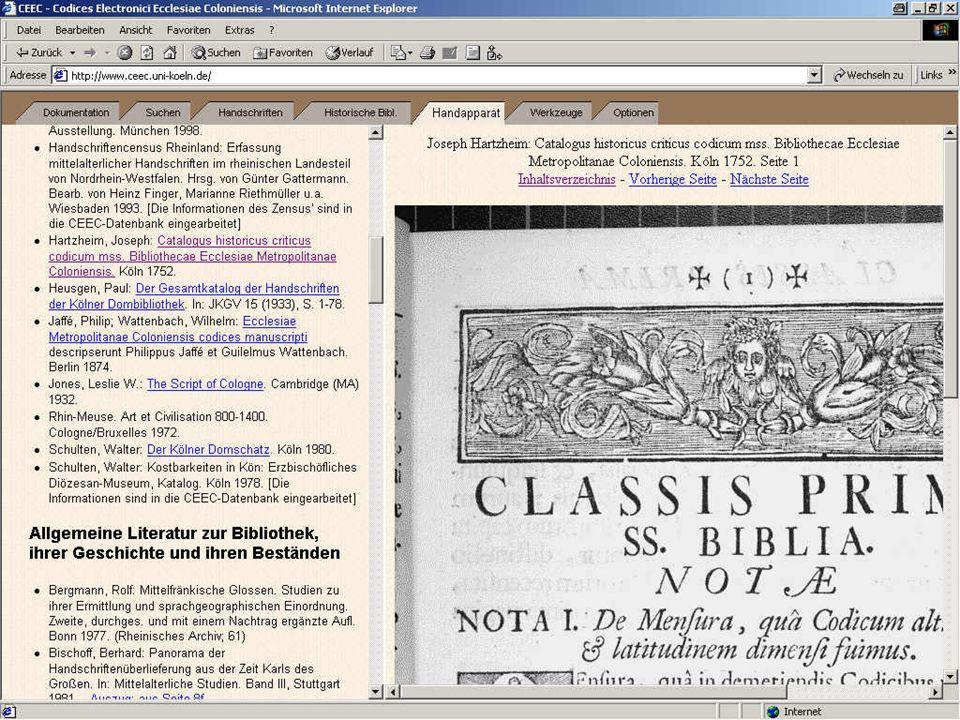 Digitale Bibliothek 3: Hartzheim
