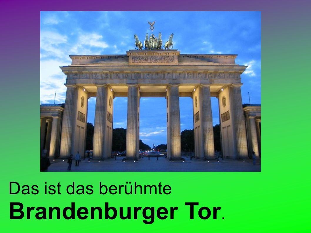 Zum Einkaufen kann man zum belebten Kudamm oder zum modernen Potsdamer Platz fahren.