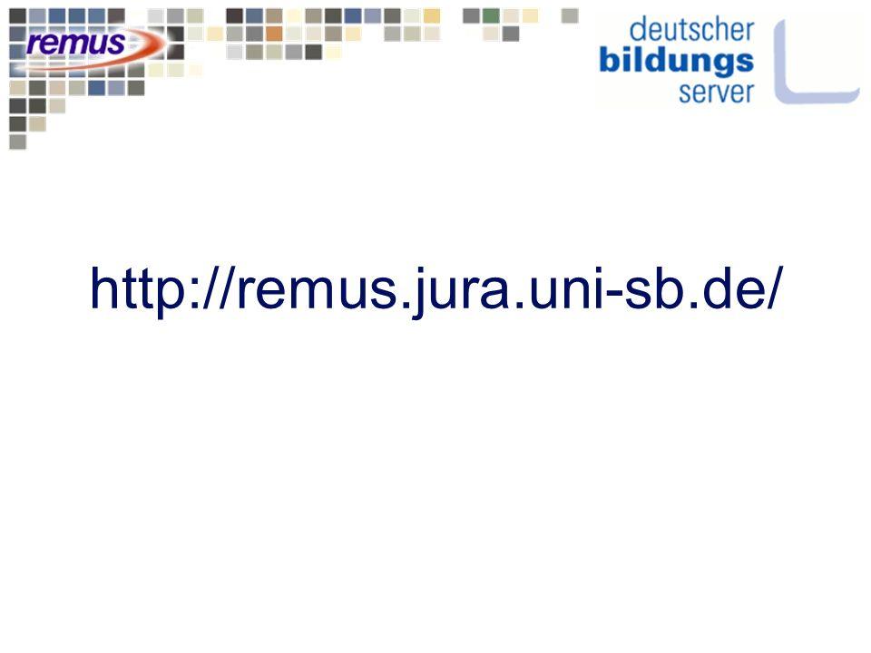http://remus.jura.uni-sb.de/