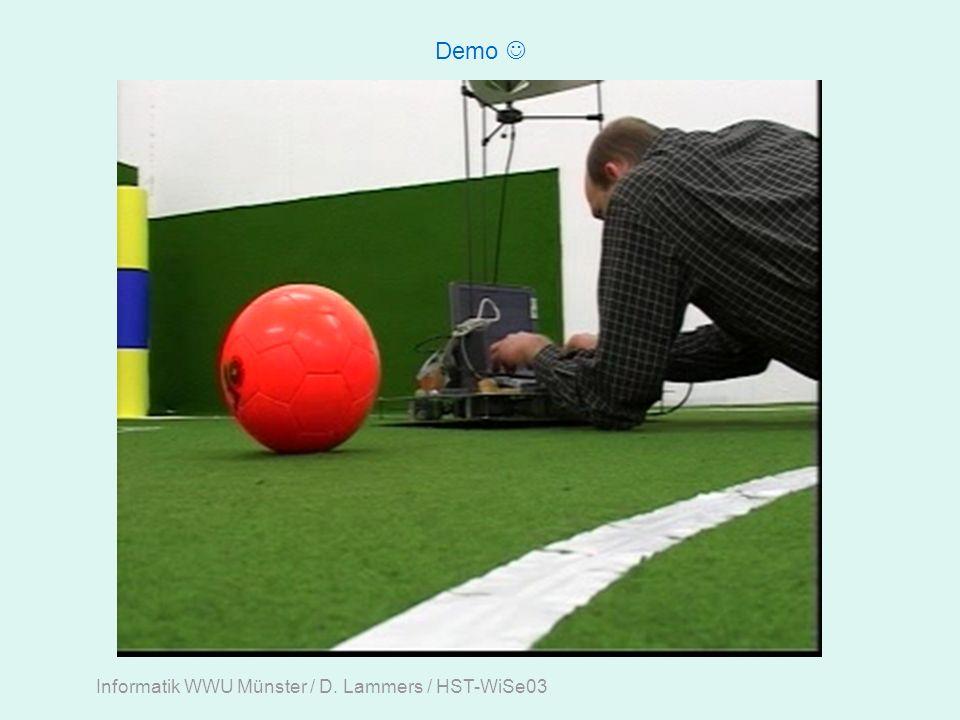 Informatik WWU Münster / D. Lammers / HST-WiSe03 Demo