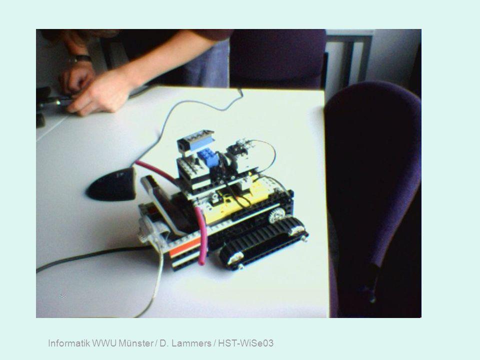 Informatik WWU Münster / D. Lammers / HST-WiSe03