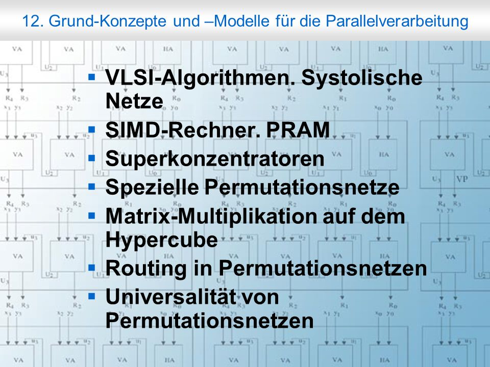 Rechneraufbau & Rechnerstrukturen, Folie 12.23 © W.