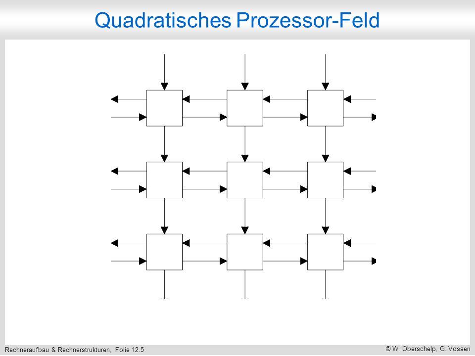 Rechneraufbau & Rechnerstrukturen, Folie 12.56 © W. Oberschelp, G. Vossen Dreistufiges -Netzwerk