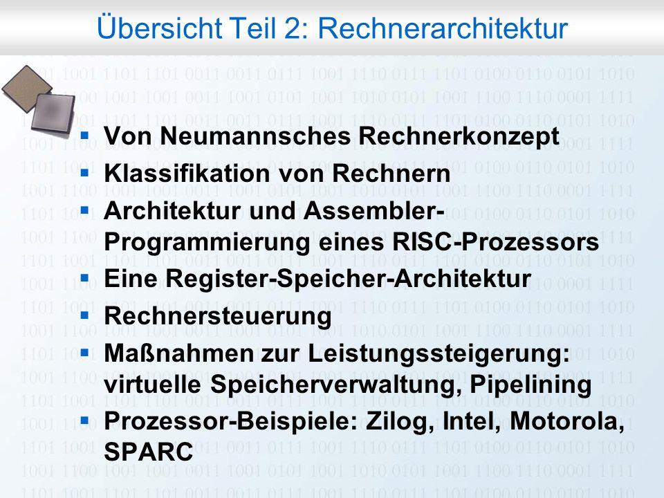 Rechneraufbau & Rechnerstrukturen, Folie 0.3 © W. Oberschelp, G.